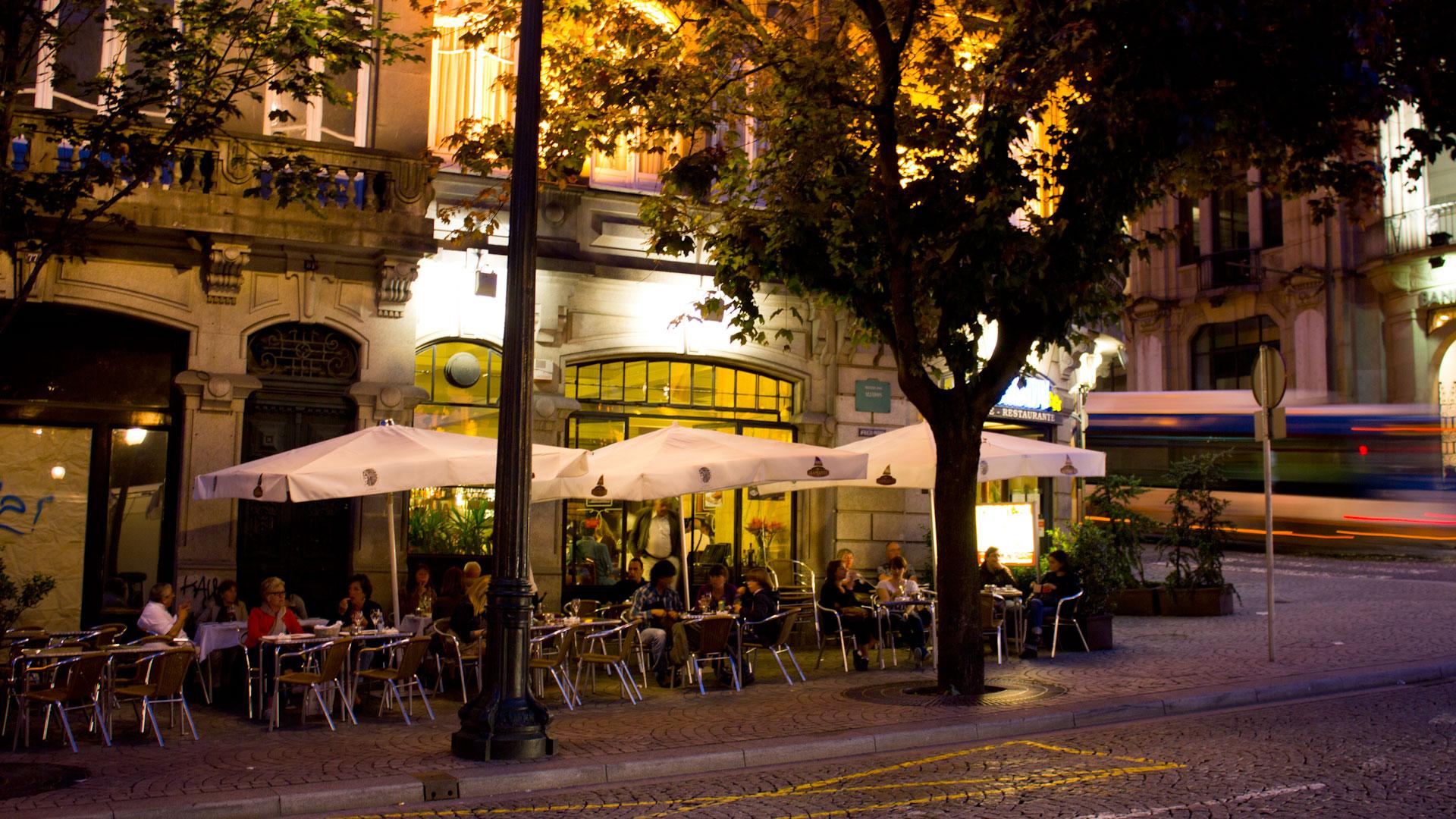 Café Guarany on Avenue Aliados in Porto