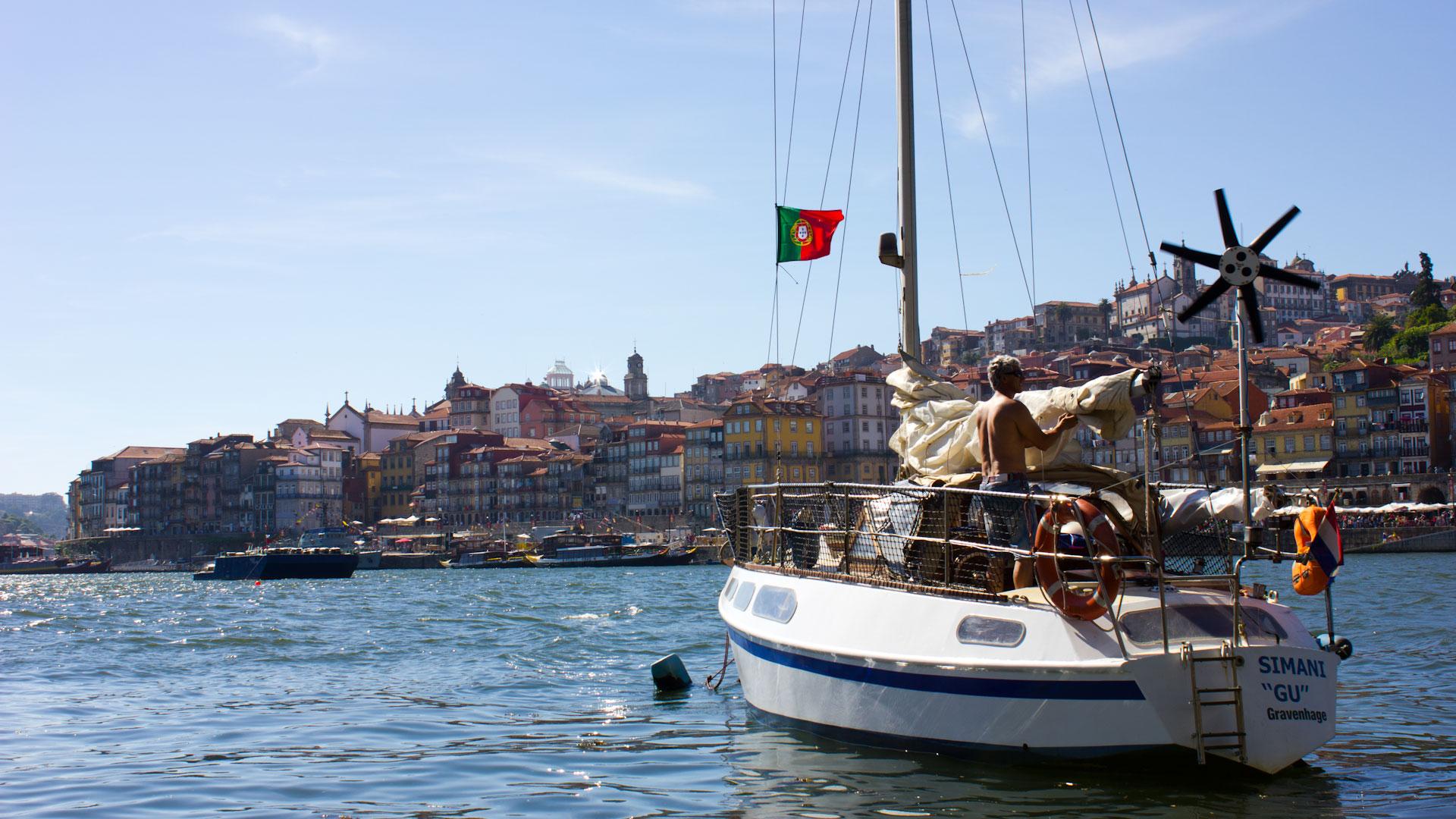 Boat trip in Porto