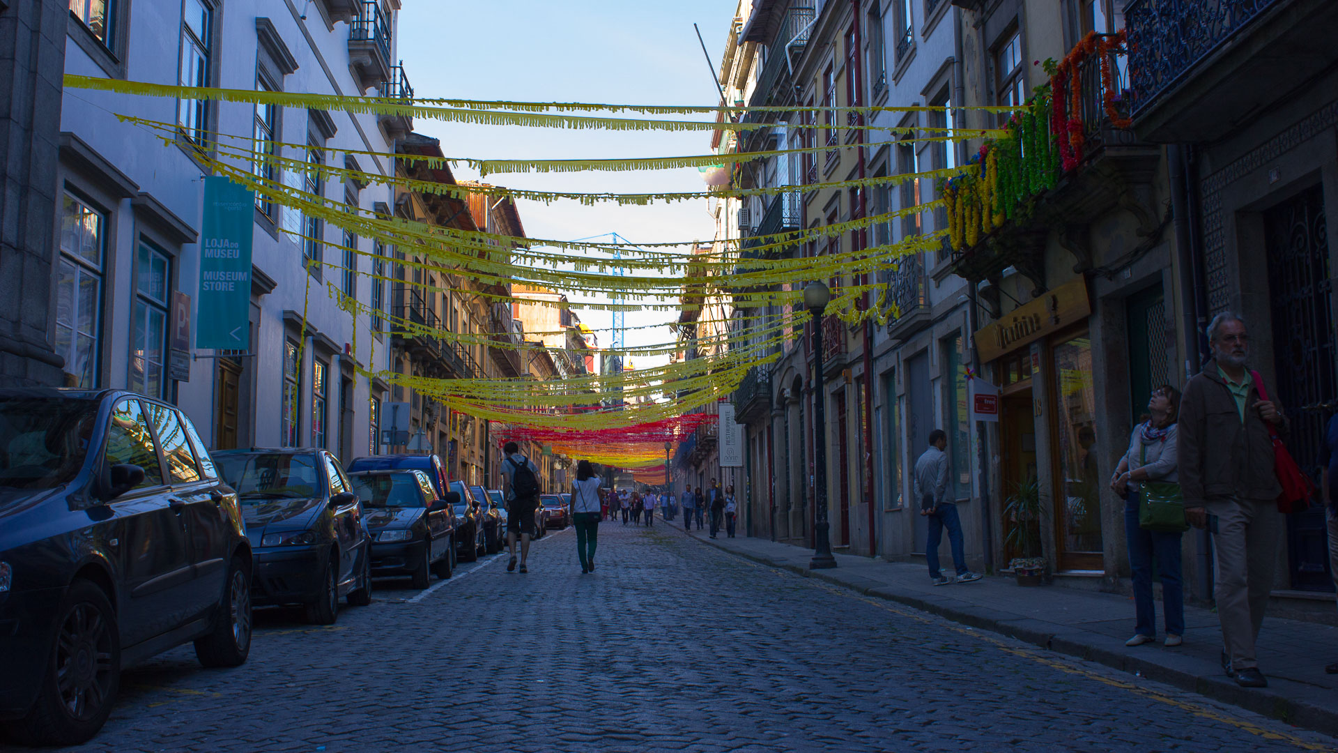 Getting ready for the St John's Eve in Porto