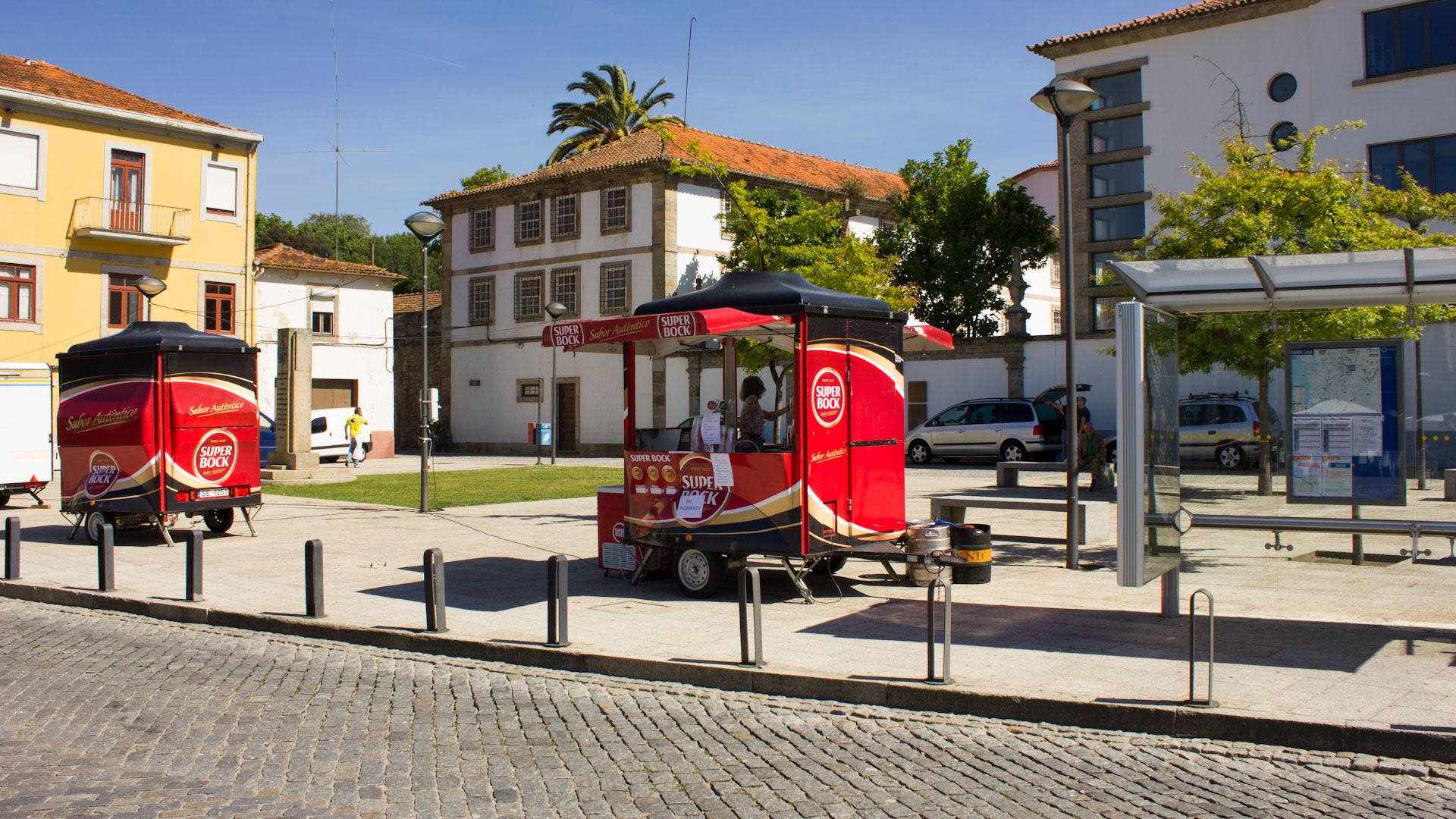 Super Bock Stand in Porto