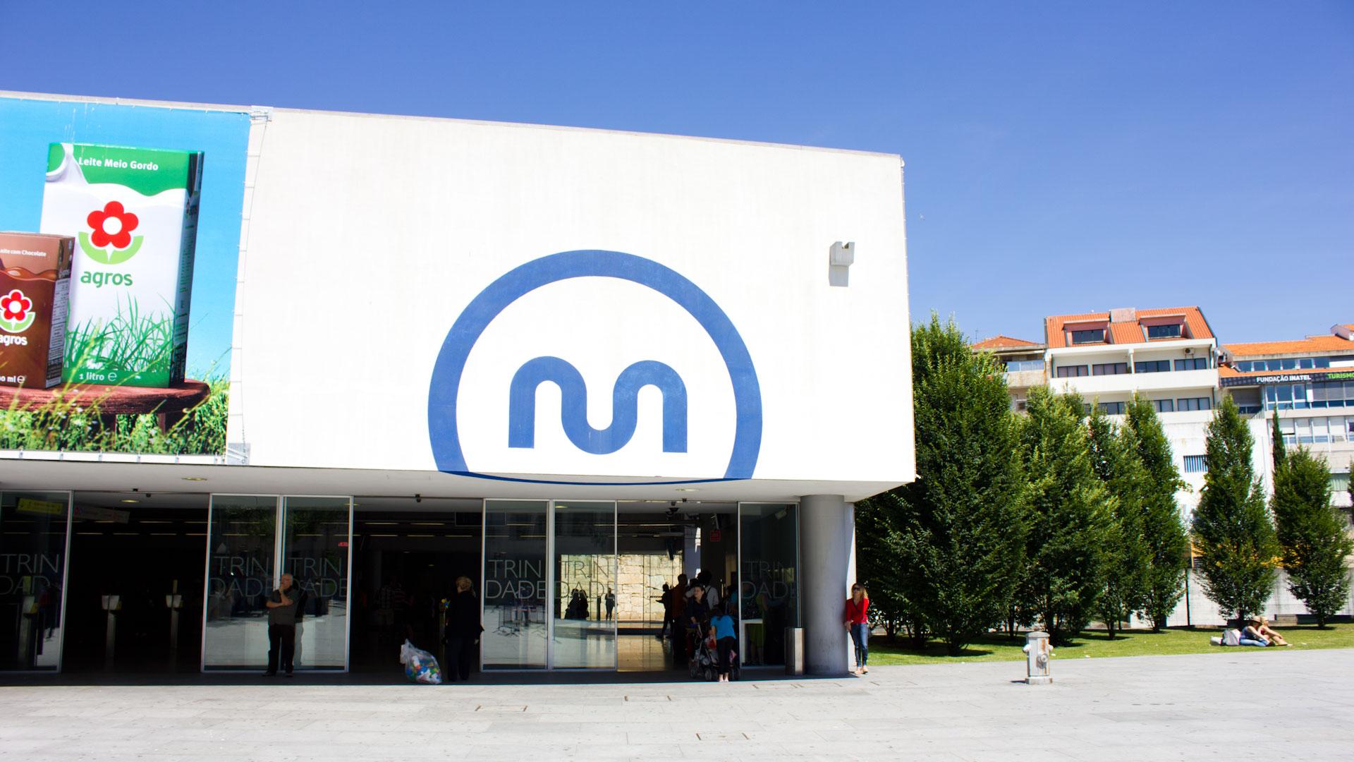 Trindade Metro Station Porto