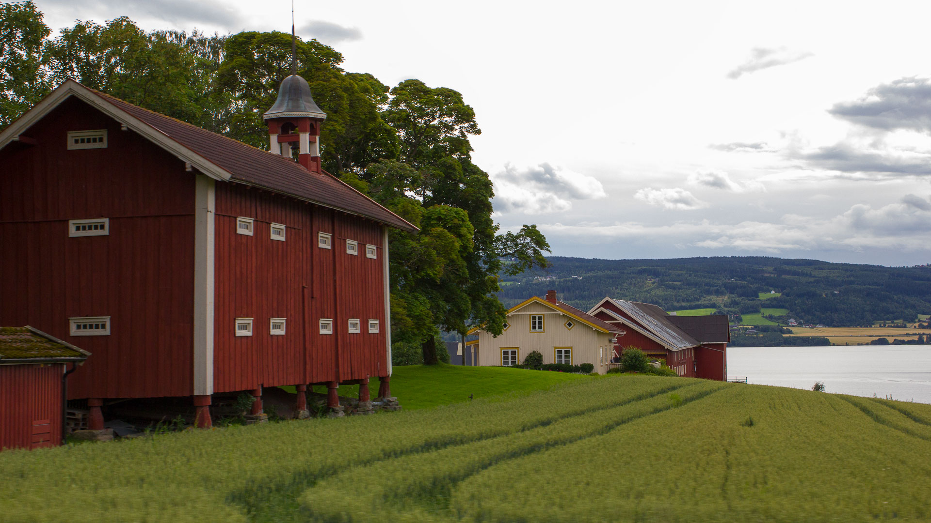 A farm in Norway