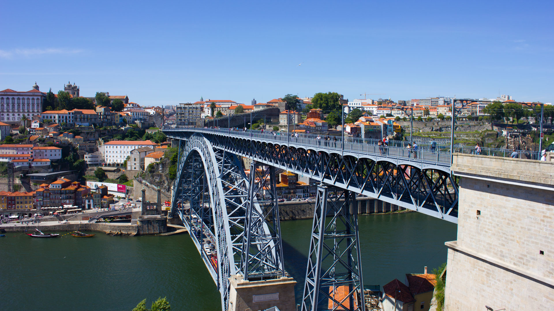 Dom Luís Bridge in Porto