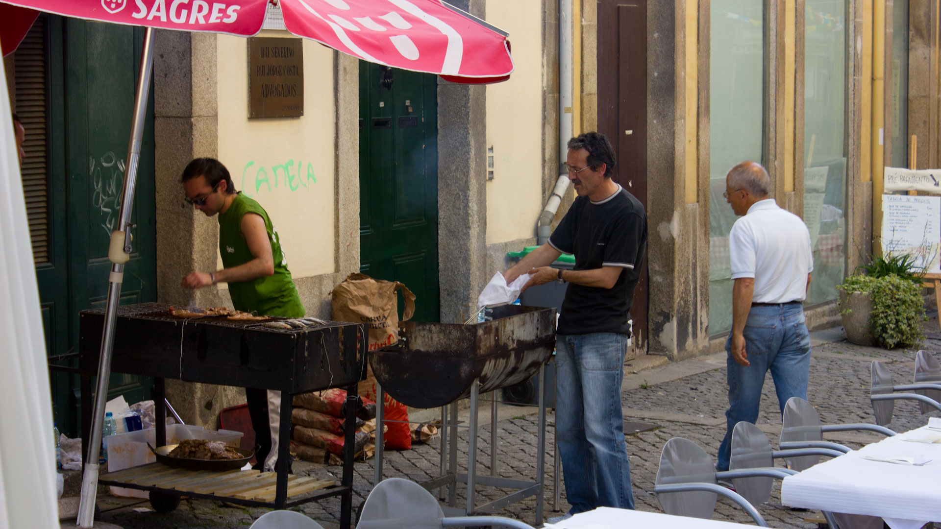 Barbeque in Portugal