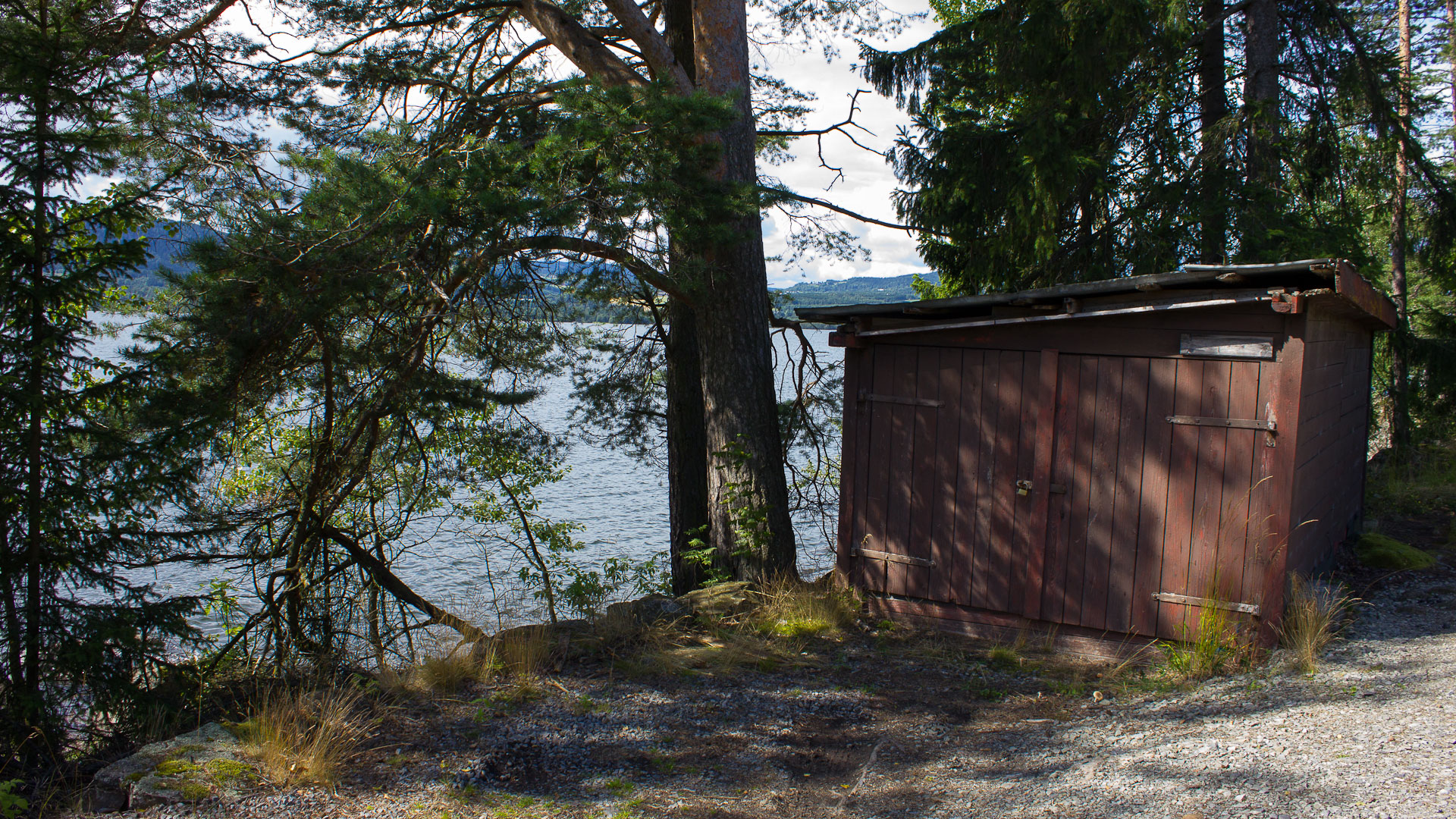 Small shed in Norway